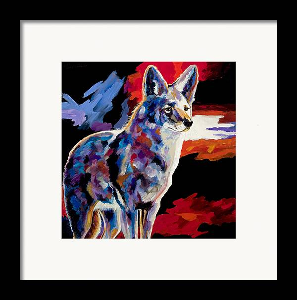 Wildlife Art Framed Print featuring the painting Vigilant by Bob Coonts