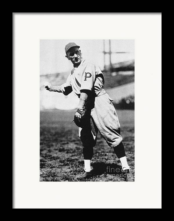 1920s Framed Print featuring the photograph Walter Rabbit Maranville by Granger