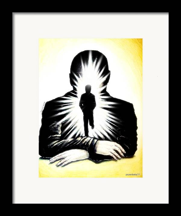 Light Touch Framed Print featuring the digital art We Grew Up With The Hard Knocks Of Life We May Also Grow With Soft Touches Of The Soul by Paulo Zerbato