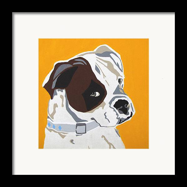 Boxer Framed Print featuring the painting Boxer by Slade Roberts
