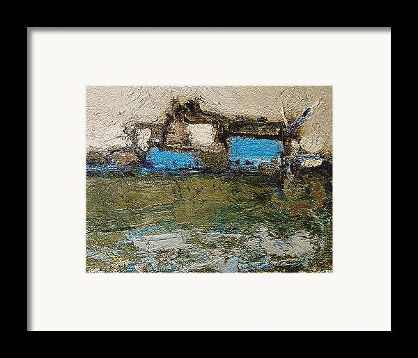 Landscapes Framed Print featuring the painting Morning by Pemaro