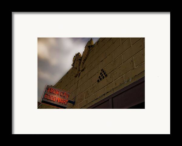 Tampa Framed Print featuring the photograph Ybor City by Patrick Flynn