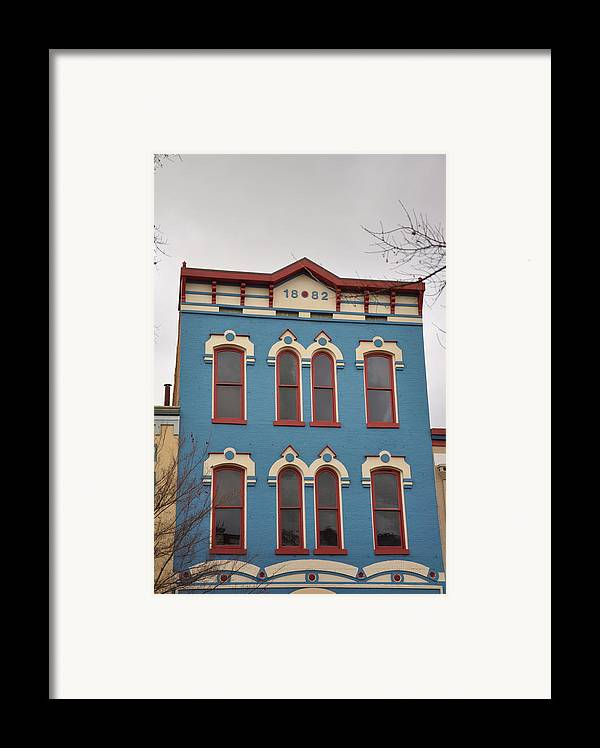 Architectural Framed Print featuring the photograph 1882 by Jan Amiss Photography