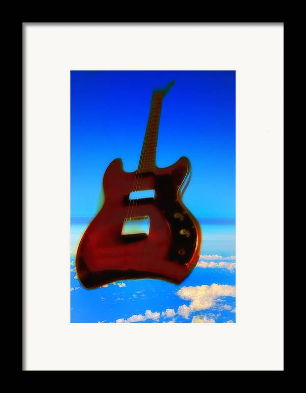 Guitar Framed Print featuring the photograph 1963 Guild Jet Star by Bill Cannon