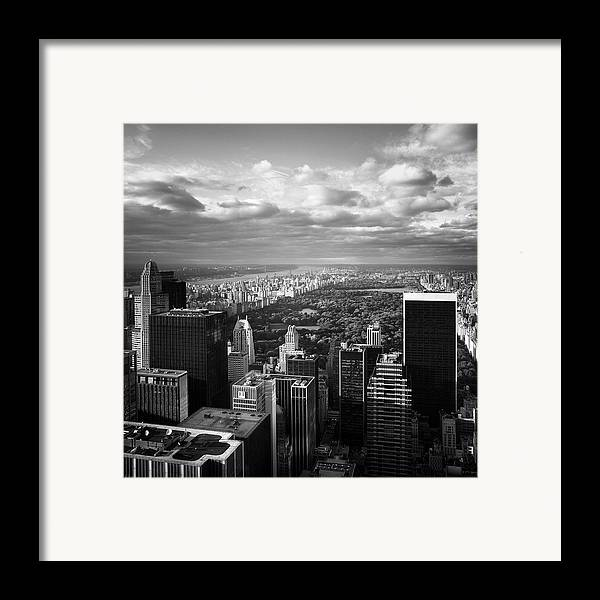 Ny Framed Print featuring the photograph Nyc Central Park by Nina Papiorek