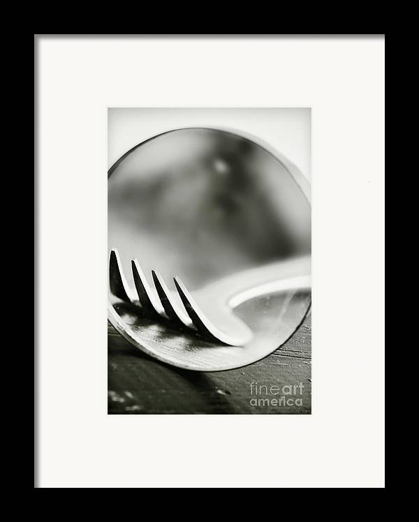 Fork Framed Print featuring the photograph Fork by HD Connelly
