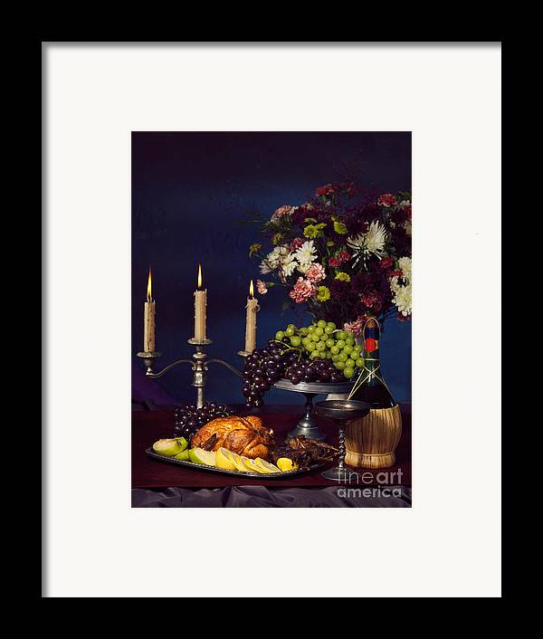 Feast Framed Print featuring the photograph Artistic Food Still Life by Oleksiy Maksymenko
