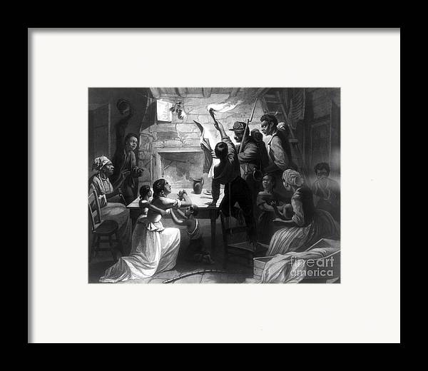 1863 Framed Print featuring the photograph Emancipation Proclamation by Granger