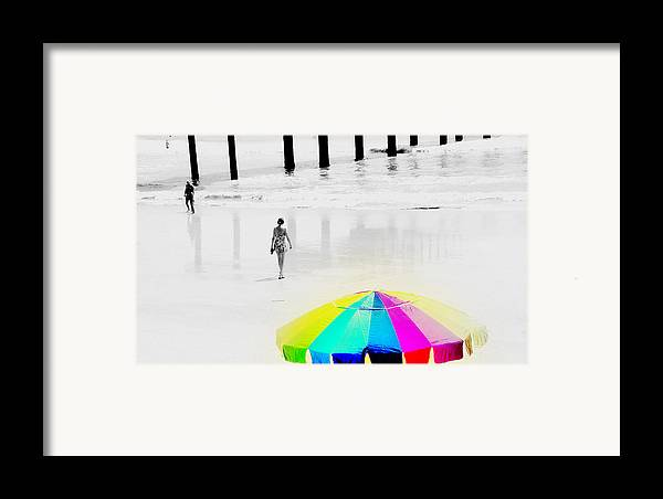 A Hot Summer Day Framed Print featuring the photograph A Hot Summer Day by Susanne Van Hulst