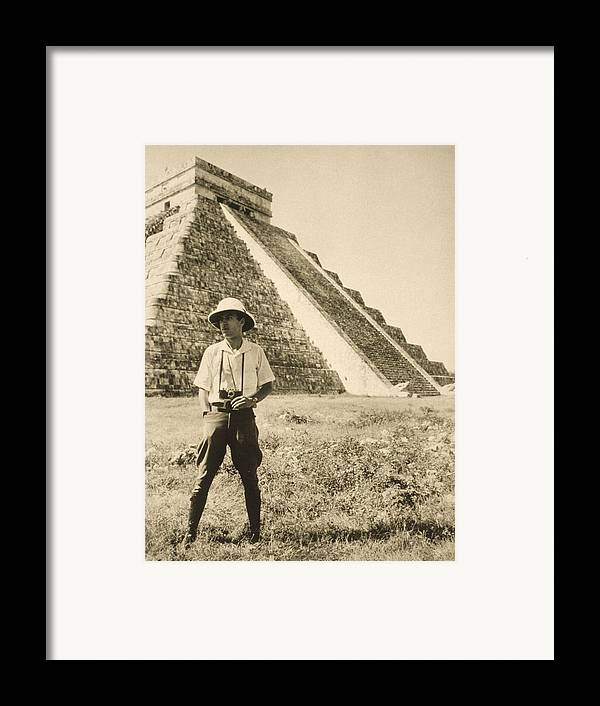 Day Framed Print featuring the photograph An Informal Portrait Of Photographer by Luis Marden