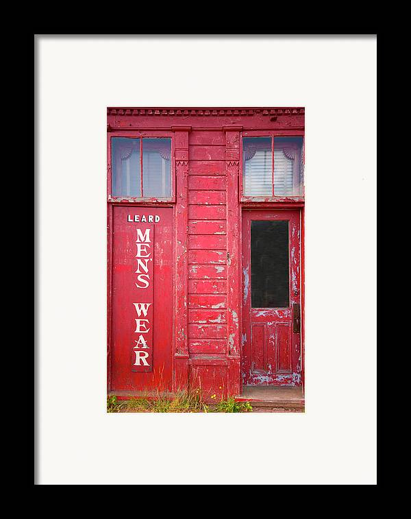 Souris Framed Print featuring the photograph Appealing Apparel by Elisabeth Van Eyken