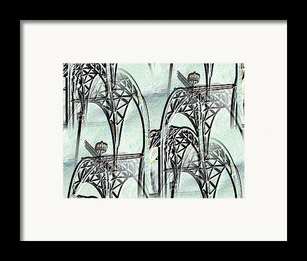 Seattle Framed Print featuring the photograph Arches 4 by Tim Allen