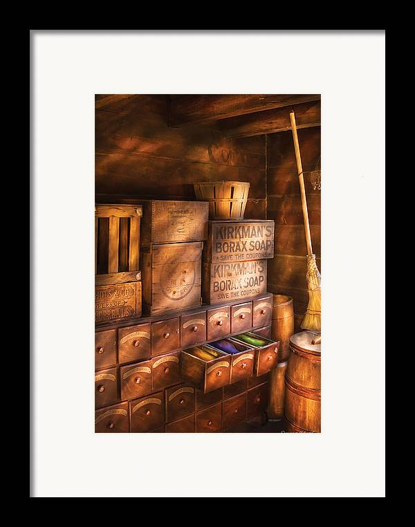 Savad Framed Print featuring the photograph Artist - Assorted Dyes by Mike Savad