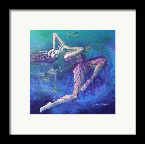 Art Framed Print featuring the painting Back In Time by Dorina Costras