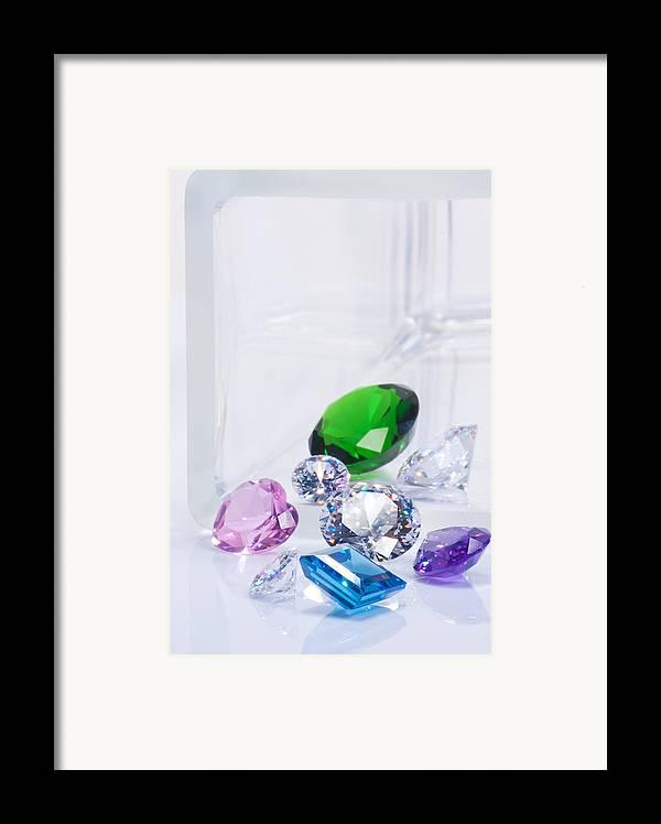 Allure Framed Print featuring the jewelry Beautiful Jewel by Atiketta Sangasaeng