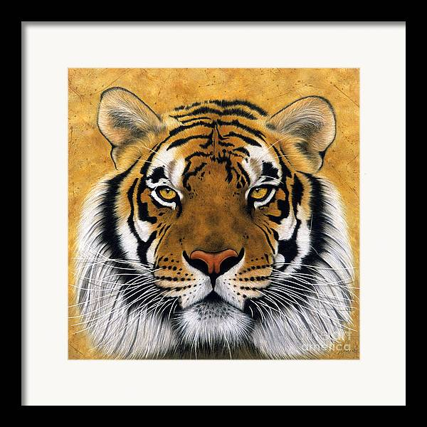 Lawrence Supino Framed Print featuring the painting Bengali II by Lawrence Supino