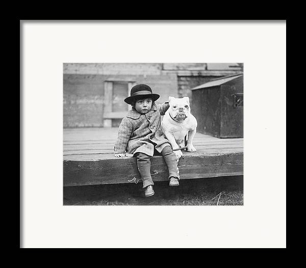 2-3 Years Framed Print featuring the photograph Best Friends by Kirby