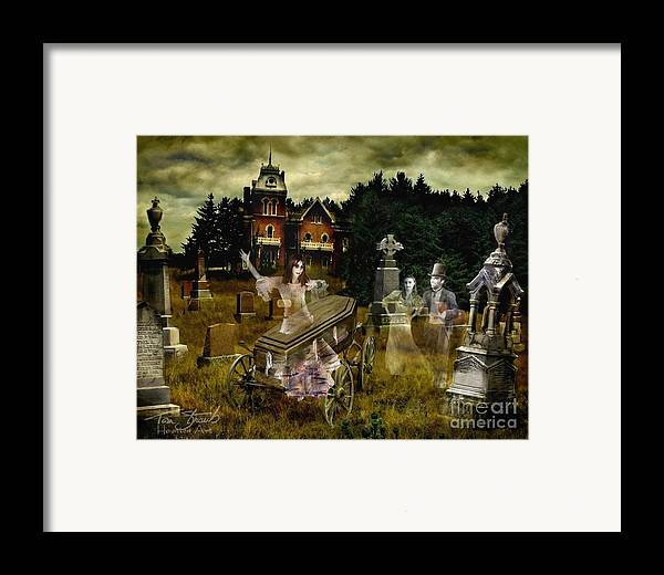 Ghosts Framed Print featuring the photograph Black Fly by Tom Straub