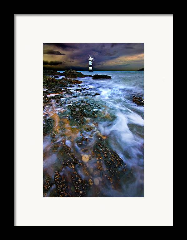 Uk Framed Print featuring the photograph Black Point Light by Meirion Matthias