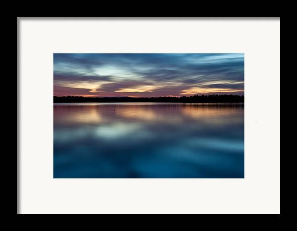 Arkansas Framed Print featuring the photograph Blue Skies Of Reflection by Jonas Wingfield