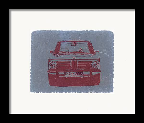 Bmw 2002 Framed Print featuring the photograph Bmw 2002 by Naxart Studio