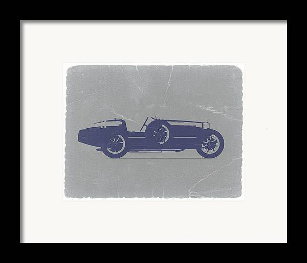 Bugatti Type 35 Framed Print featuring the photograph Bugatti Type 35 by Naxart Studio