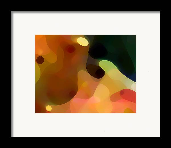 Bold Framed Print featuring the painting Cactus Fruit by Amy Vangsgard