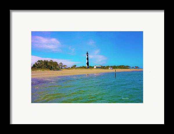 Harkers Island Framed Print featuring the photograph Cape Lookout 1 by Betsy Knapp