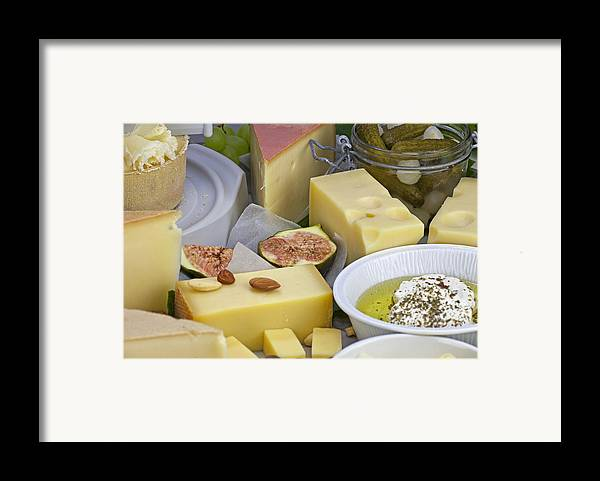Cheese Framed Print featuring the photograph Cheese Plate by Joana Kruse