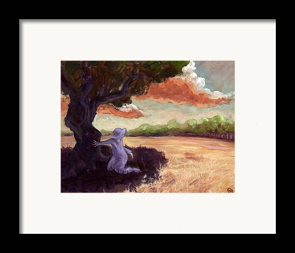 Woman Framed Print featuring the painting Clarissa by Ethan Harris