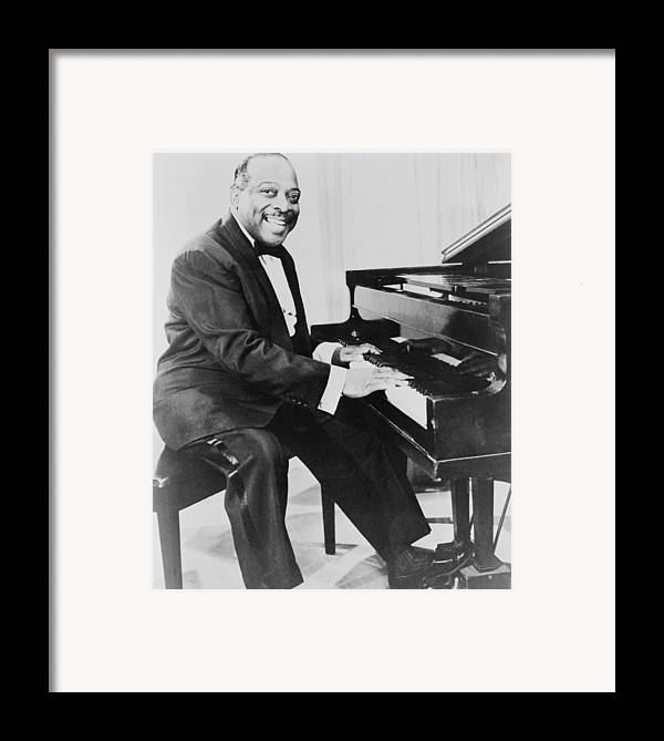 History Framed Print featuring the photograph Count Basie 1904-1984, African American by Everett