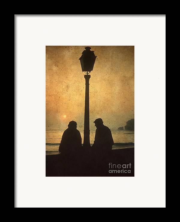 Outdoors Framed Print featuring the photograph Couple by Bernard Jaubert