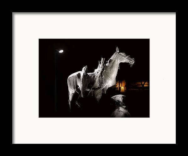 Prescott Framed Print featuring the photograph Cowboy At Rest by Christine Till