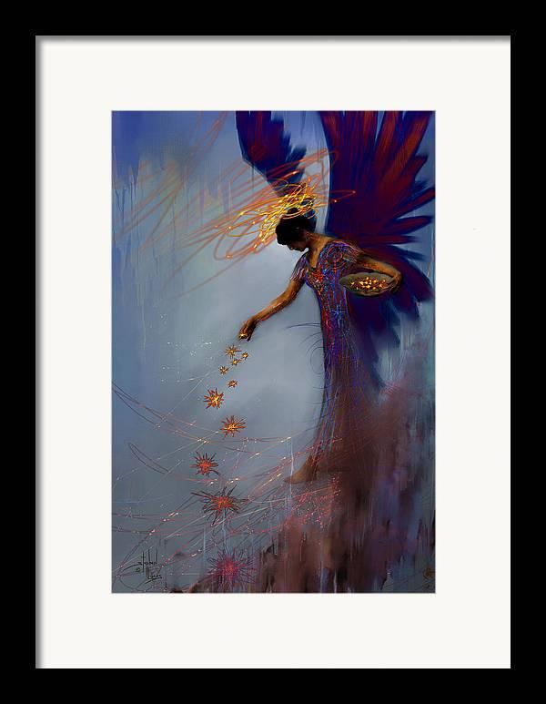 Angel framed prints angel framed art and angel prints for Angel paintings for sale