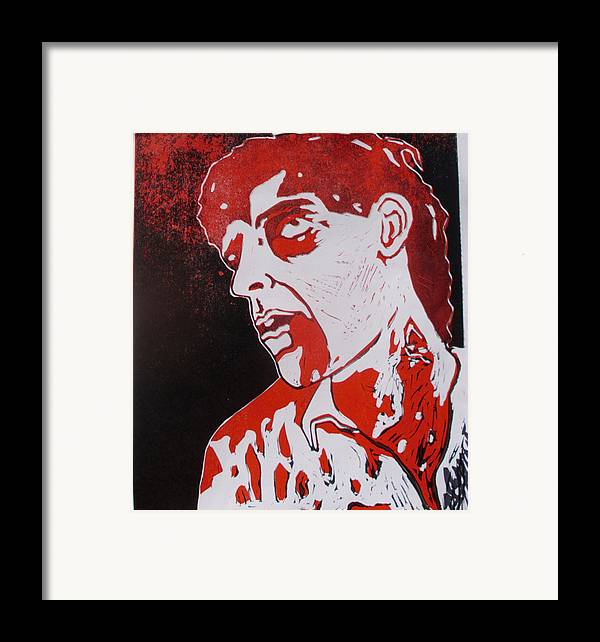 Dawn Of The Dead Framed Print featuring the painting Dawn Of The Dead Print 1 by Sam Hane