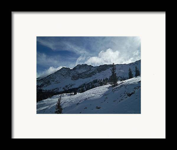 Ski Framed Print featuring the photograph Devils Castle Morning Light by Michael Cuozzo