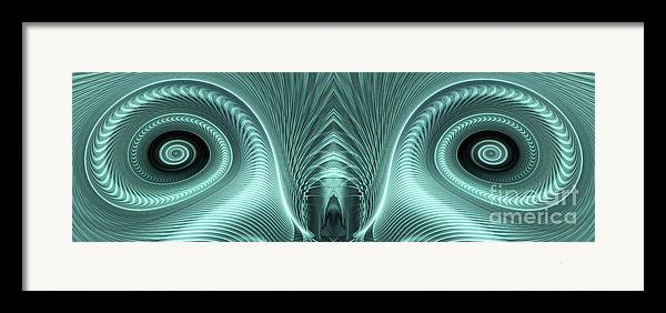 Electric Sheep Framed Print featuring the digital art Electric Sheep by John Edwards