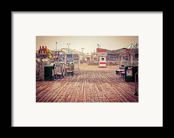 Boardwalk Framed Print featuring the photograph End Of Summer by Heather Applegate