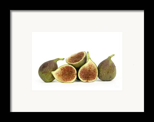 Fruit Framed Print featuring the photograph Figs by Bernard Jaubert