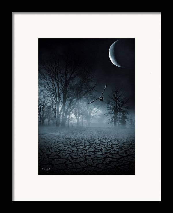 Framed Print featuring the digital art Glaucus by Lourry Legarde