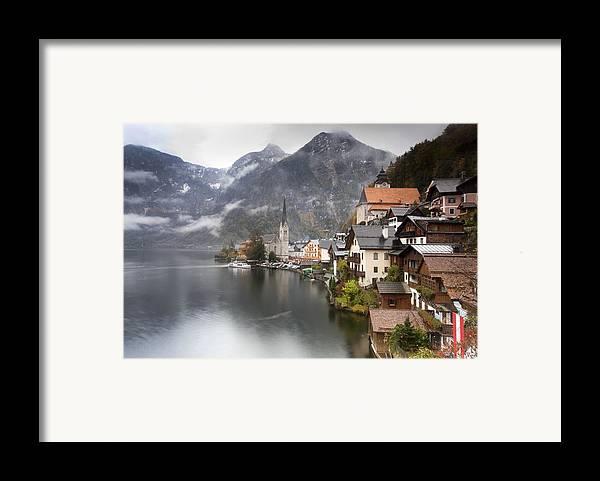 Hallstatt Framed Print featuring the photograph Hallstatt by Andre Goncalves