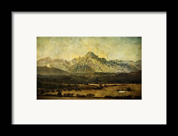 Brett Framed Print featuring the digital art Home Series - The Grandeur by Brett Pfister