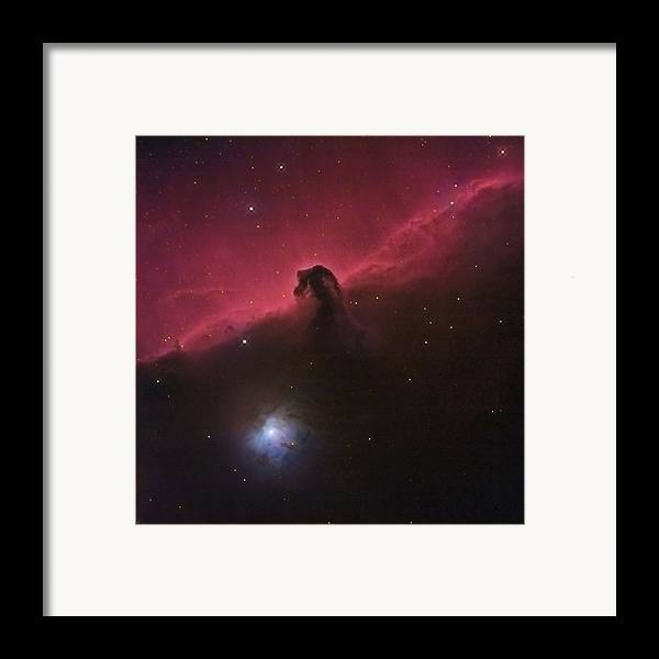 Horsehead Framed Print featuring the photograph Horsehad Nebula II by Charles Warren