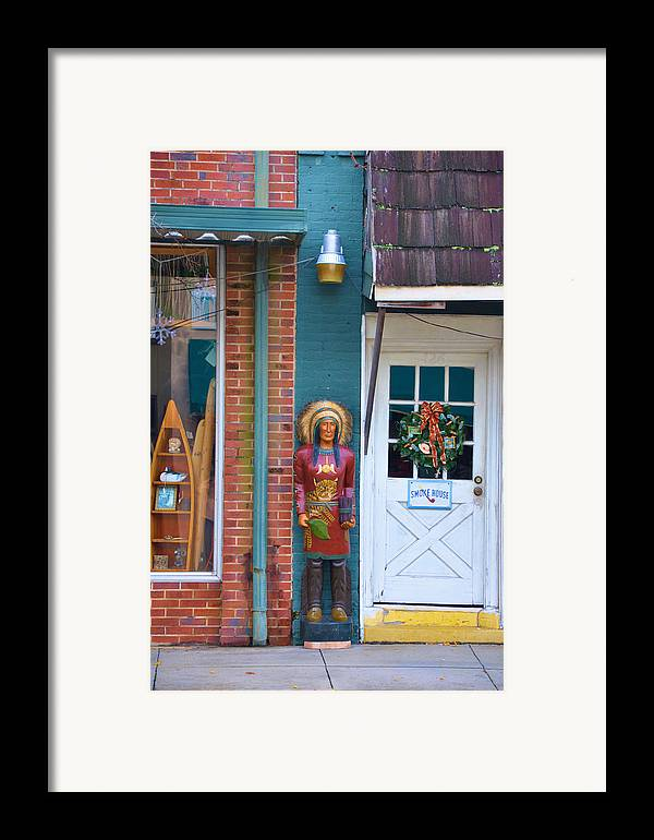 Architectural Framed Print featuring the photograph Indian Chief by Jan Amiss Photography
