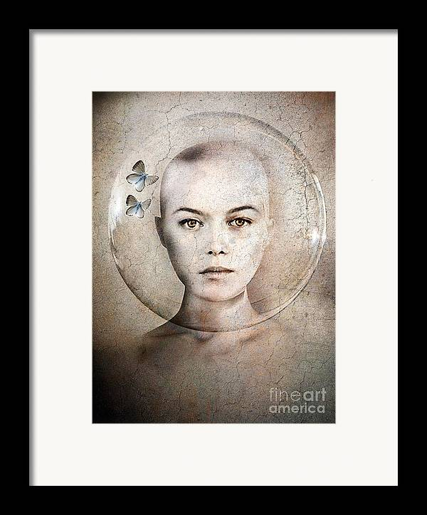 Photodream Framed Print featuring the photograph Inner World by Jacky Gerritsen