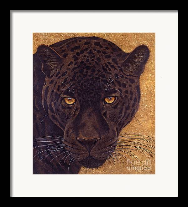 Lawrence Supino Framed Print featuring the painting Jag by Lawrence Supino
