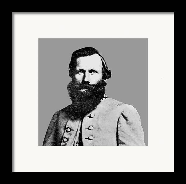 Jeb Stuart Framed Print featuring the painting J.e.b. Stuart by War Is Hell Store