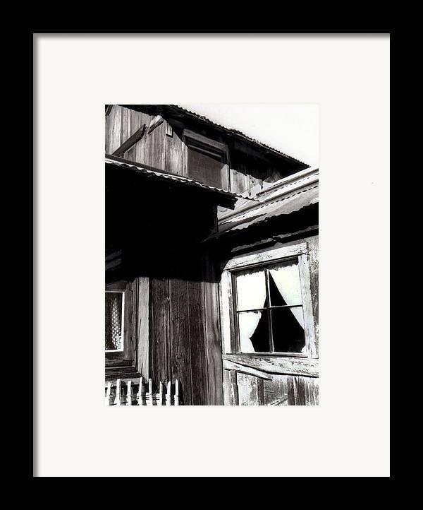 Keys Ranch Framed Print featuring the digital art Keys Ranch by Timothy Bulone