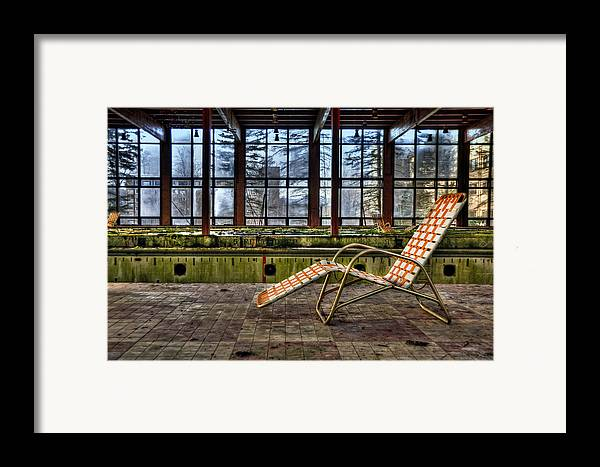 Lounge Framed Print featuring the photograph Last Resort by Evelina Kremsdorf