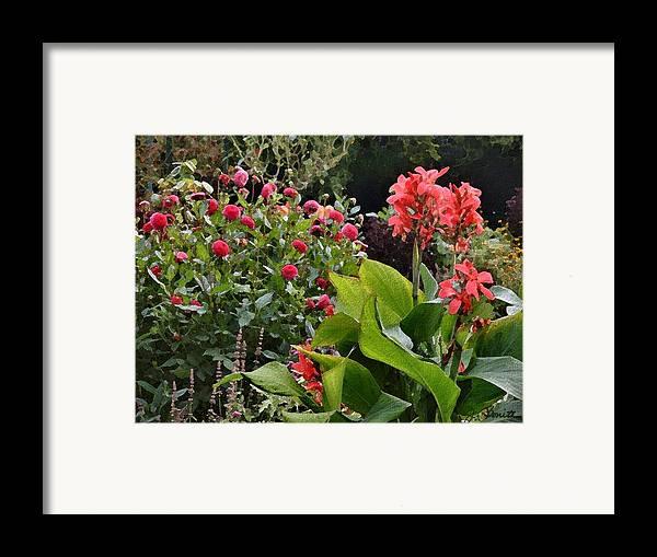 France Framed Print featuring the photograph Les Fleurs De Honfleur by Joe Bonita